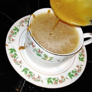 Butterscotch Apple Cider ~ A favorite holiday drink!
