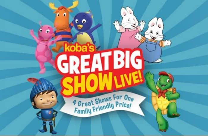 koba's great big show live