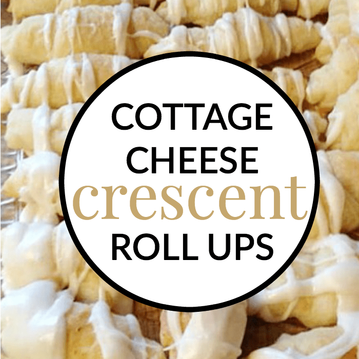 cottage cheese roll ups with homemade dough