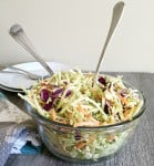 EASY ORIENTAL COLESLAW WITH CRUNCHY NOODLES