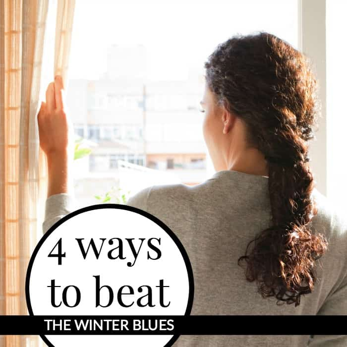 WINTER BLUES is a mood disorder where people experience symptoms of depression during the cold months of winter. 4 Ways to beat the winter blues
