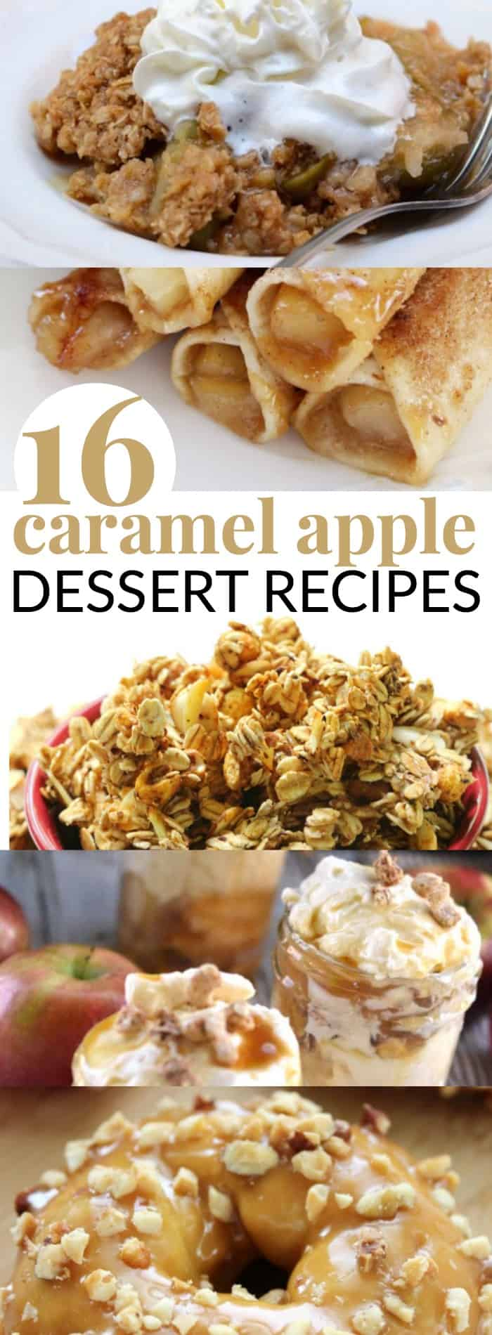 delicious caramel apple dessert recipes to try.