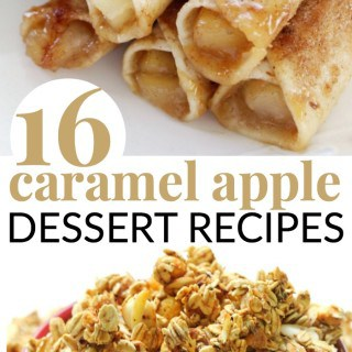 CARAMEL APPLE DESSERT RECIPES