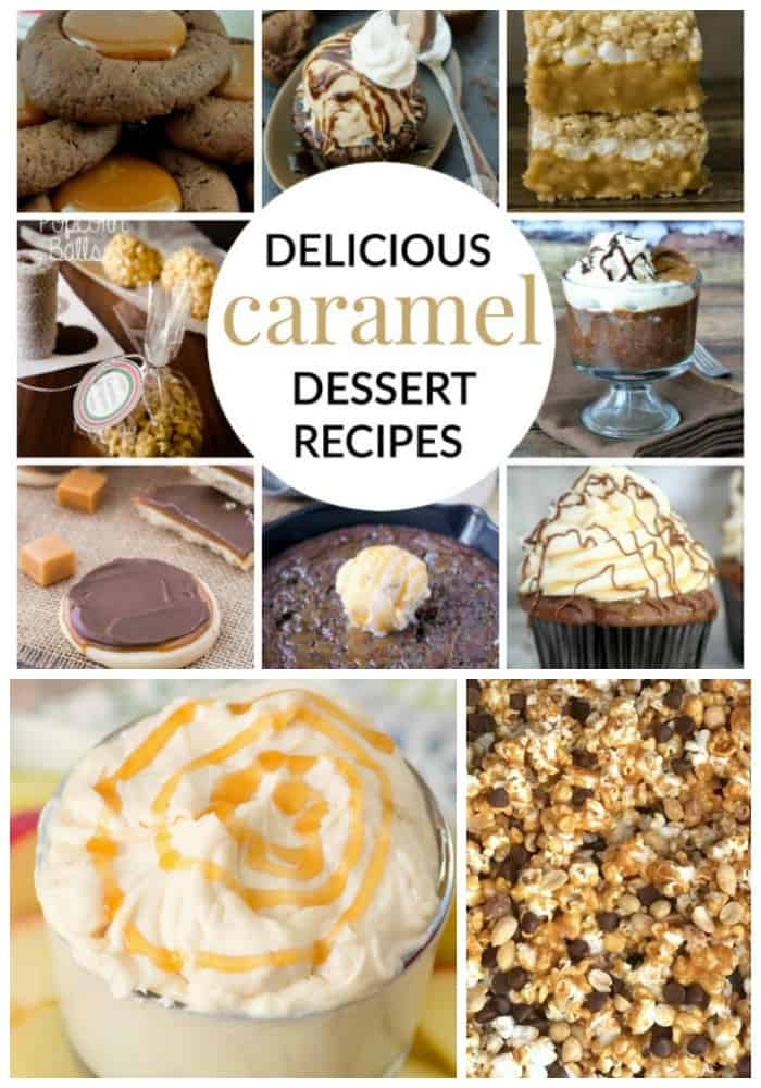 Tuesday April 5, 2016 is National Caramel Day! Why not try one of these 10 DELICIOUS CARAMEL DESSERT RECIPES to celebrate!