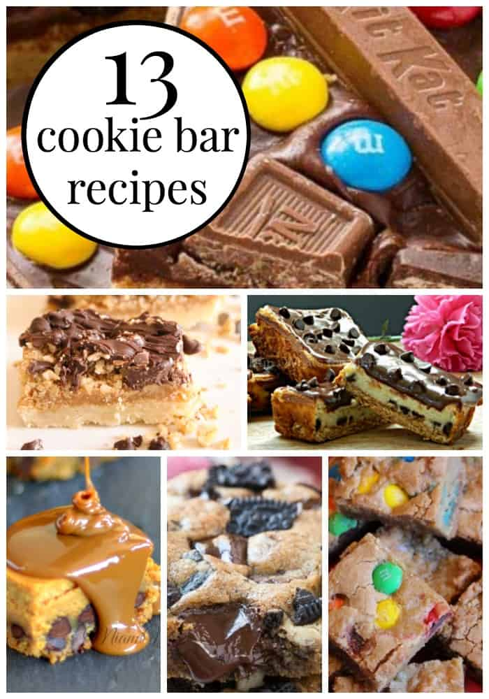 irresistibly delicious cookie bar recipes.