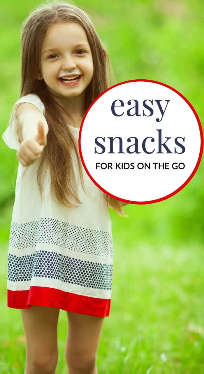Snack time for kids can be tricky. These easy snacks for kids on the go are perfect for at home and those times you are out of the house!