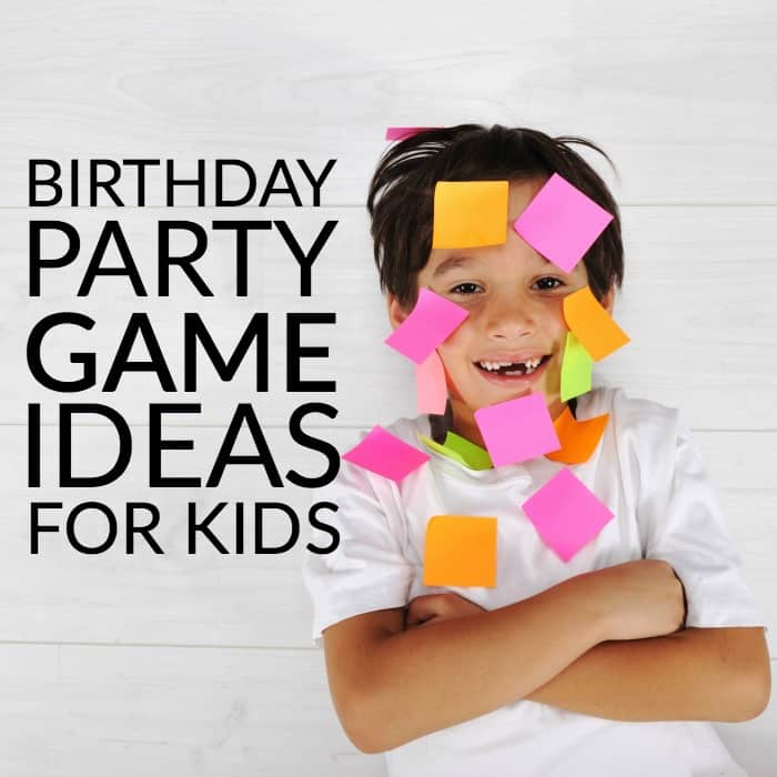 Do you need some birthday party help? Here are some great BIRTHDAY PARTY GAME IDEAS FOR KIDS to help plan your child's next party.