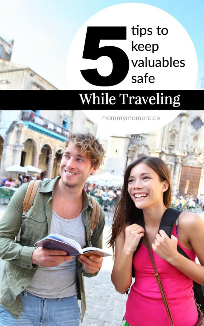 TIPS TO KEEP VALUABLES SAFE WHILE TRAVELING