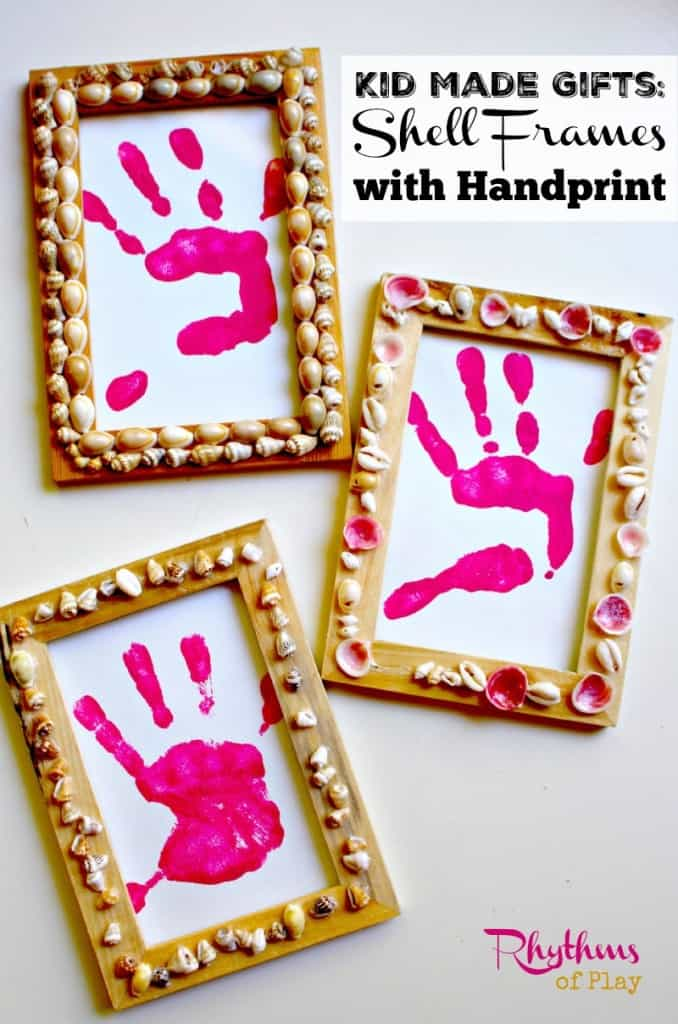 Kid-Made-Gift-Shell-frames-with-handprint-678x1024