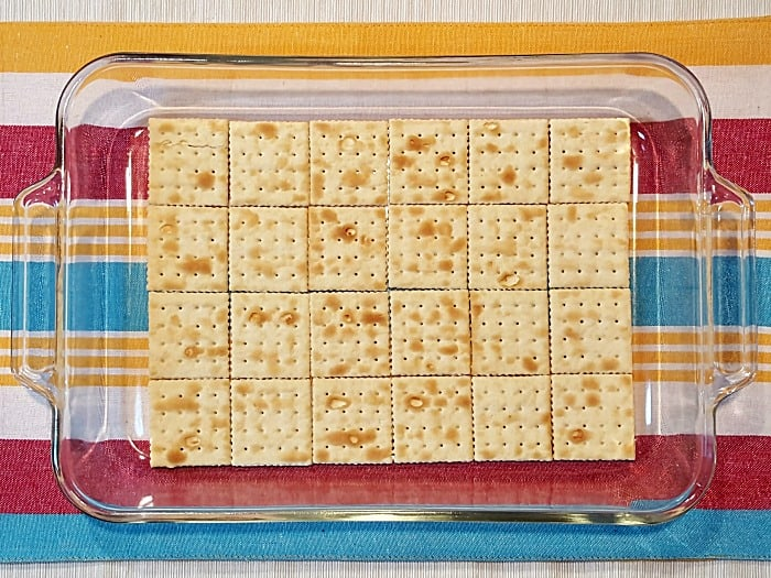 No Bake Saltine Cracker Cake