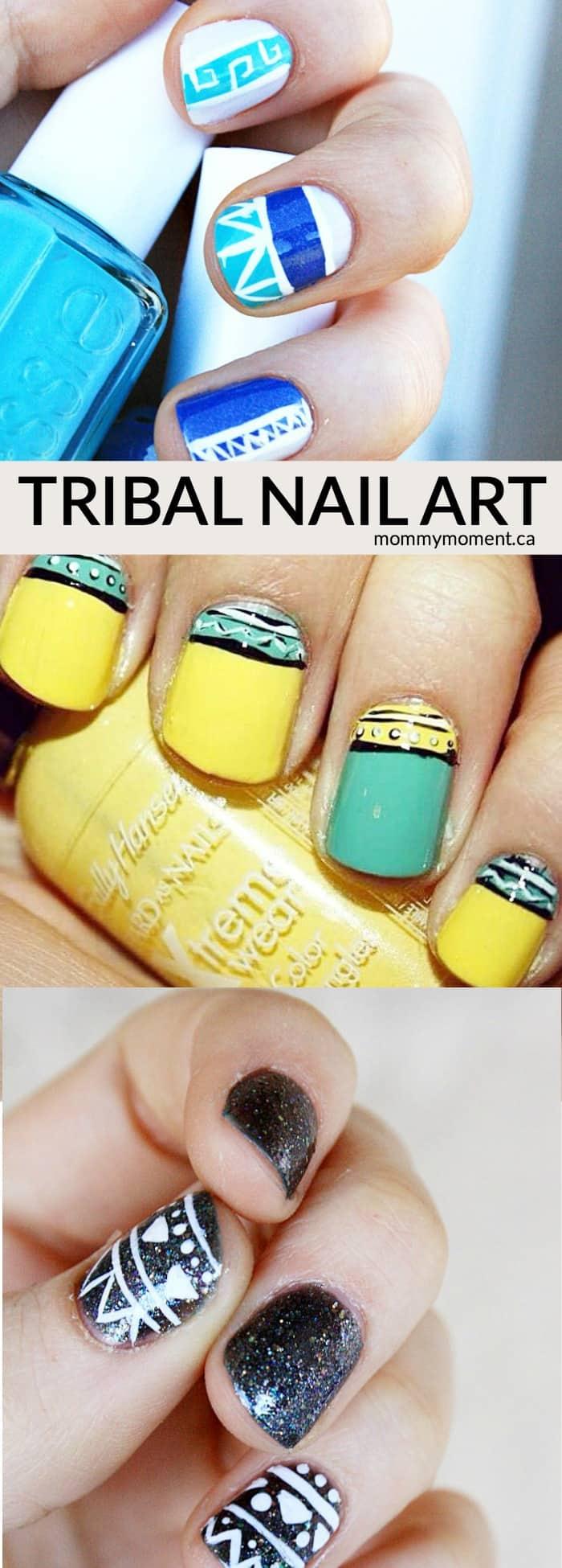 Tribal-nail-art