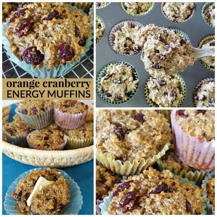 homemade energy muffins