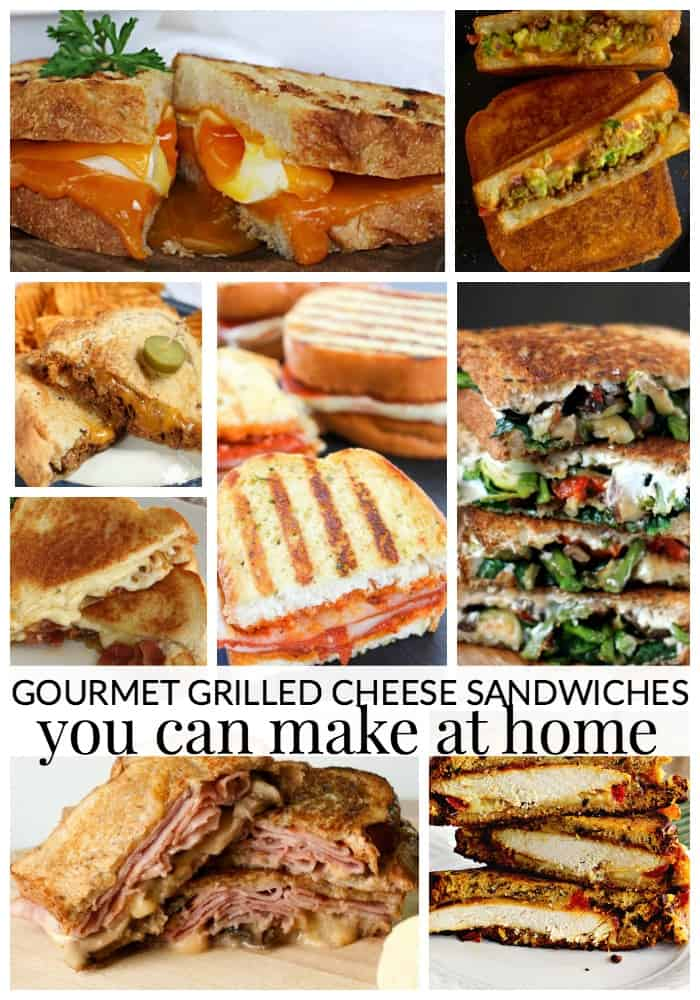 gourmet grilled cheese sandwiches you can make at home