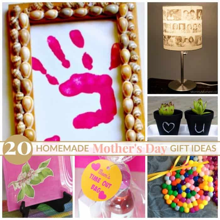 20 homemade mother's day gift ideas