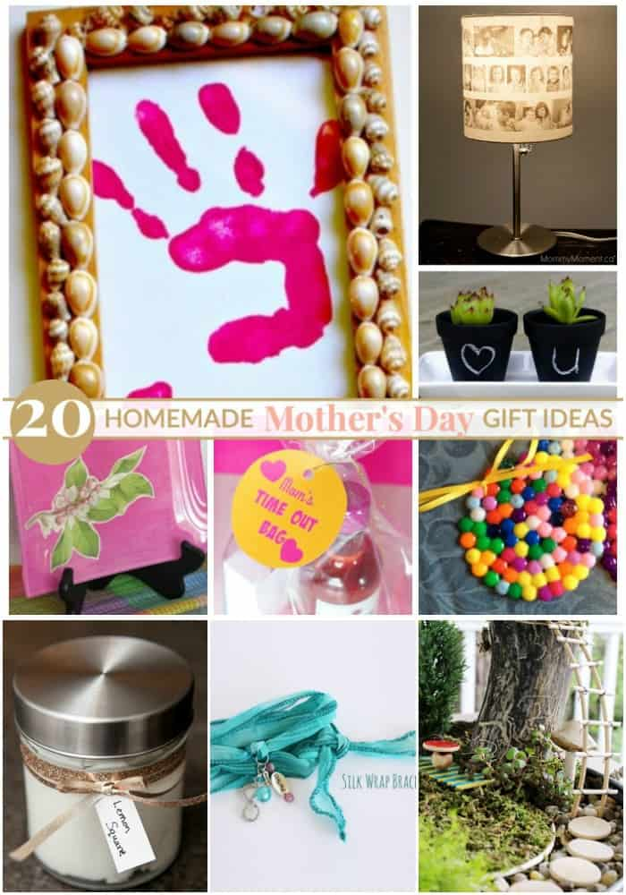 20 Homemade Mother 39 S Day Gift Ideas Mommy Moment