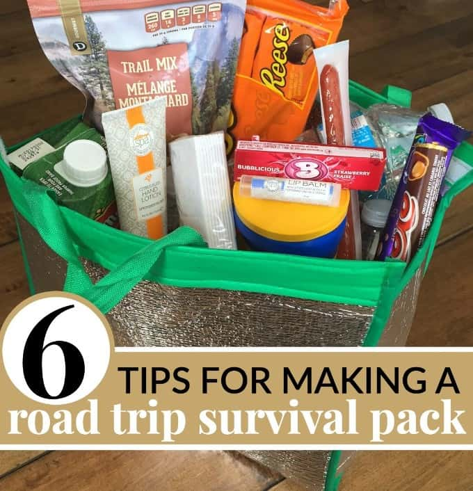 6 tips on packing the perfect road trip survival package as a gift