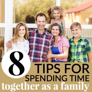 tips on spending more time together as a family