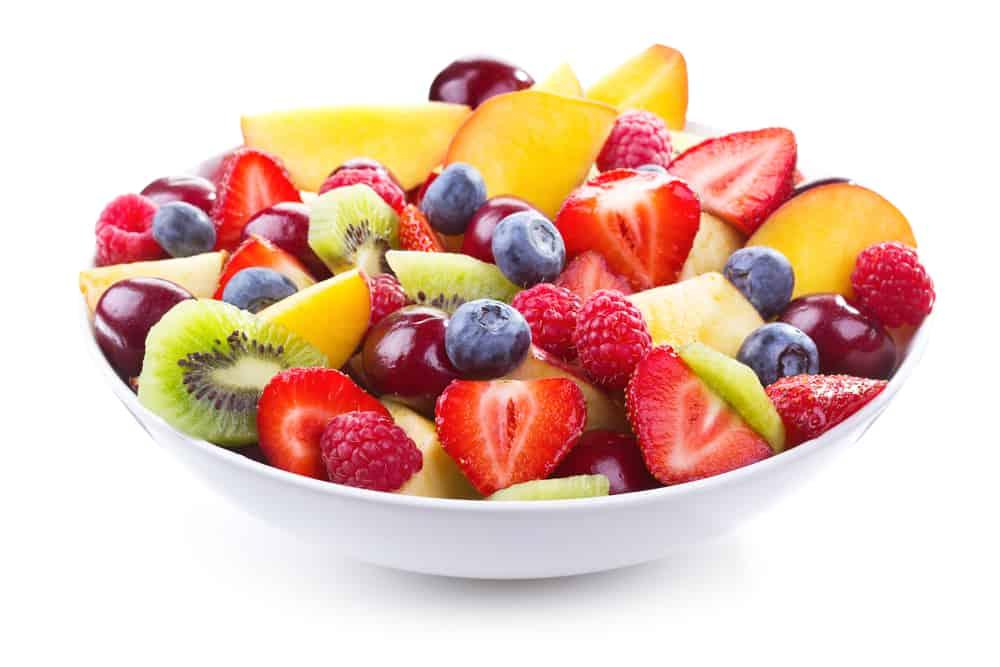 5 minute summer fruit salad