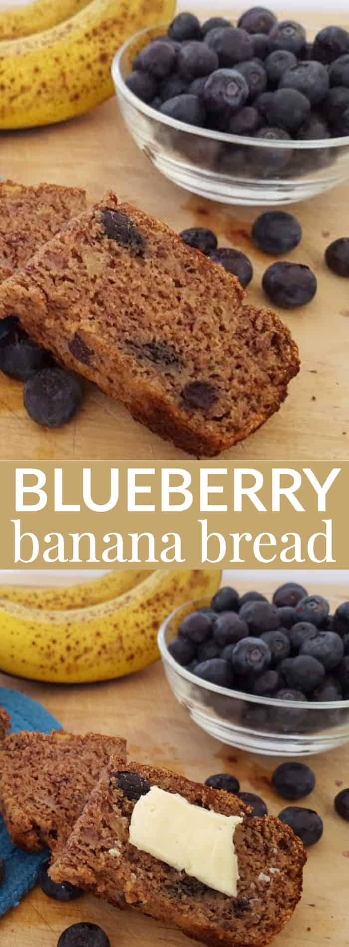 Blueberry-Banana-Bread