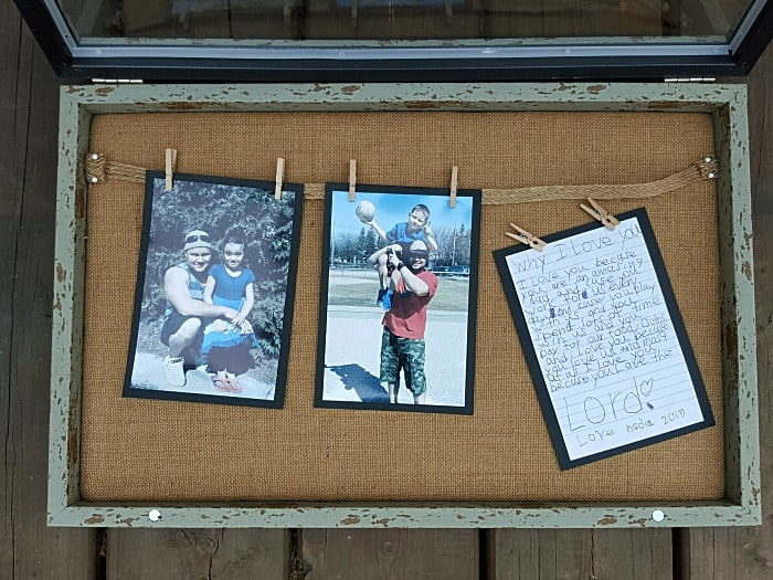 DIY FATHER'S DAY PHOTO FRAME