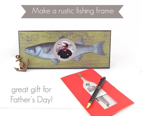 Make-a-DIY-frame-with-a-rustic-fishing-theme-perfect-for-Fathers-Day