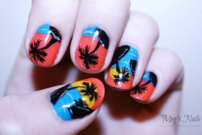 Palm Tree Manicure
