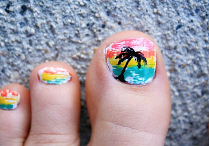 Palm Tree Pedicure