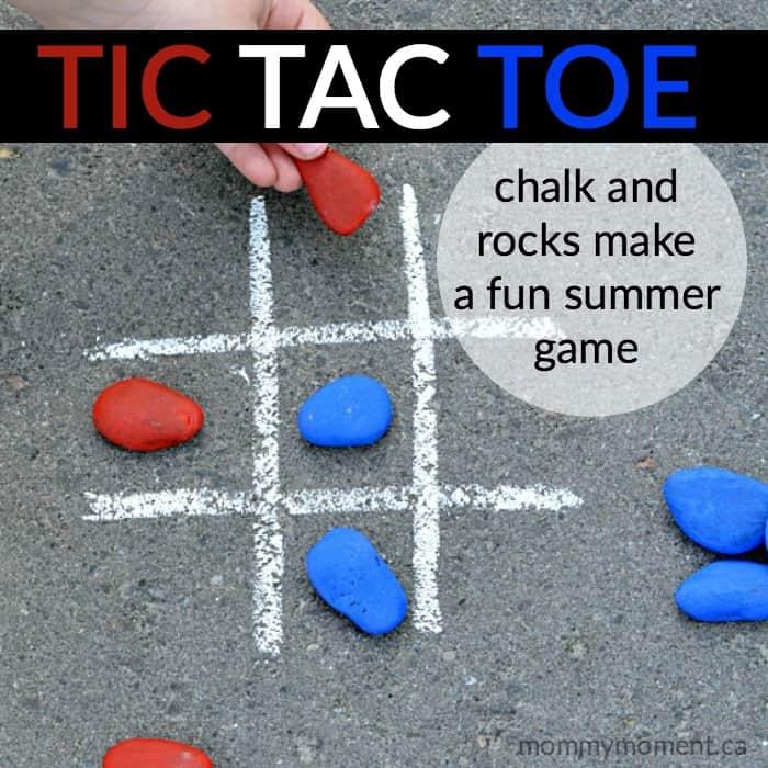 rock tic tac toe game