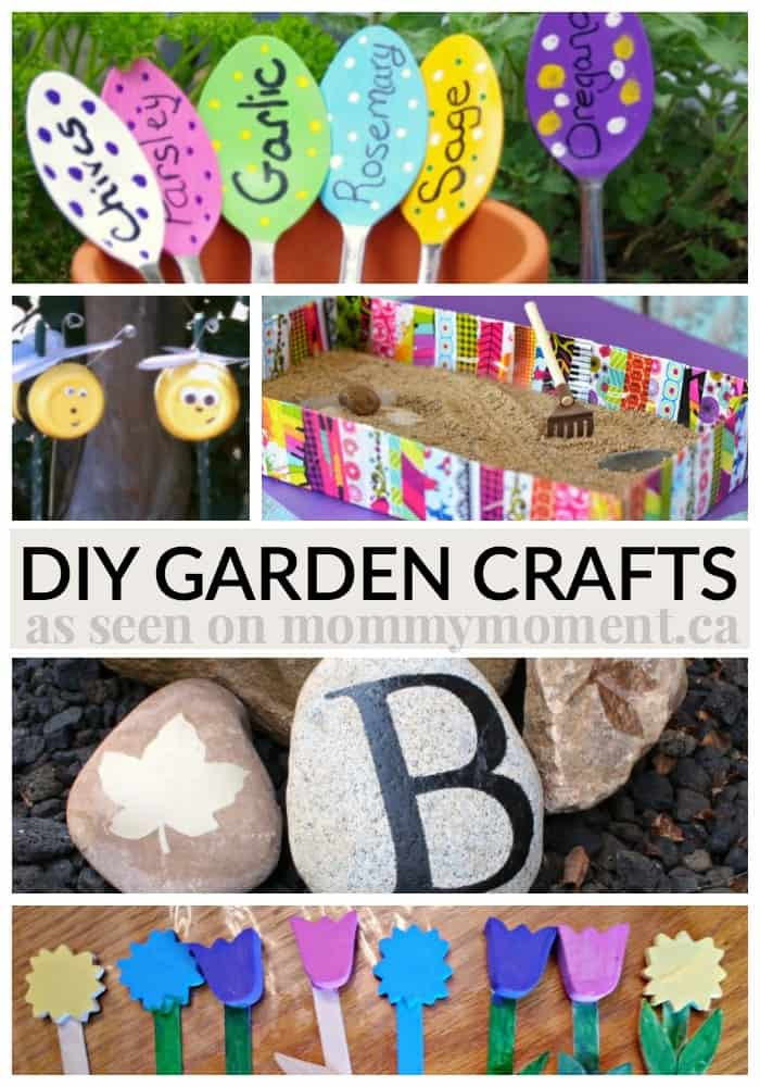 DIY garden crafts that are sure to be fun to make this summer.