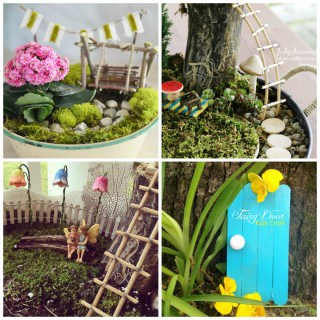 INSPIRATION ON HOW TO MAKE A FAIRY GARDEN AT HOME