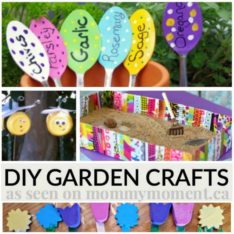 Garden Craft Ideas find this pin and more on gardening ideas for kids Diy Garden Crafts Perfect For Summer Mommy Moment