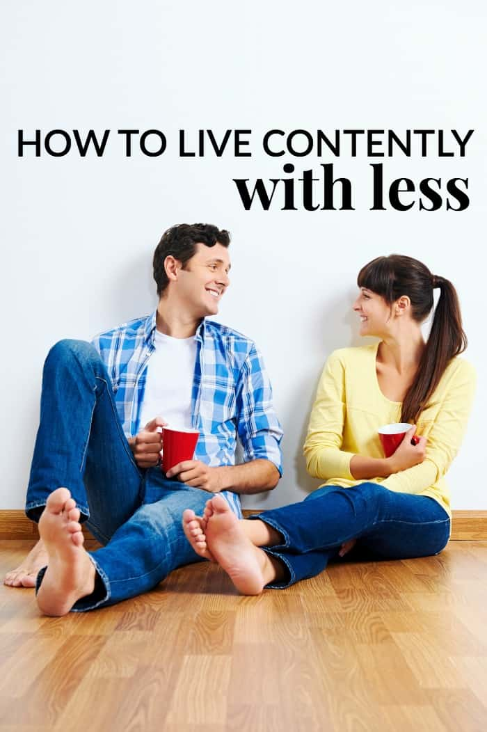 How to live contently with less stuff