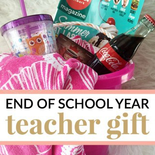 END OF SCHOOL YEAR TEACHER GIFT