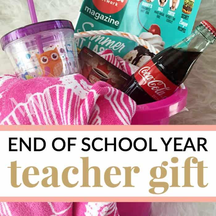 DIY teacher gift idea for a male teacher or female teacher