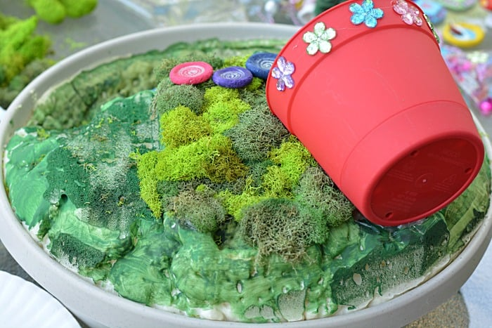 Fairy Garden House and moss