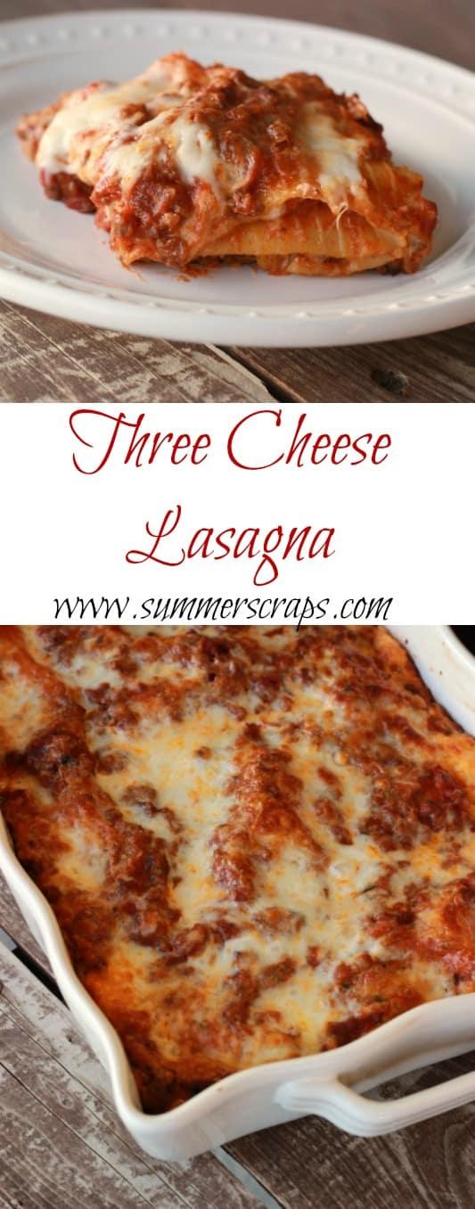 Three-Cheese-Lasagna-Collage
