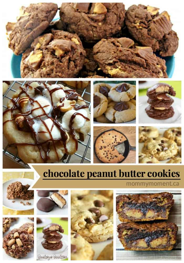 the best chocolate peanut butter cookie recipes