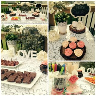 GARDEN THEMED BRIDAL SHOWER