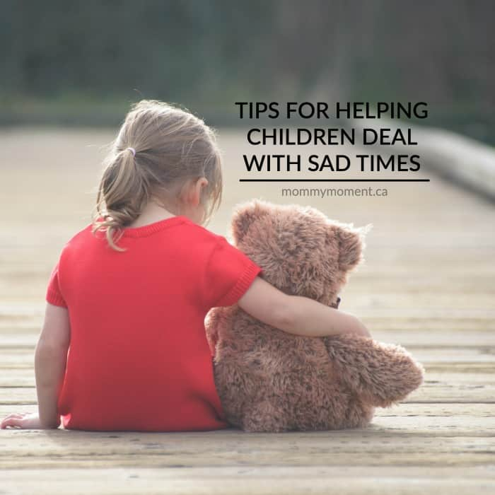 tips for helping a child deal with sadness