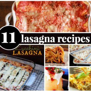 11 LASAGNA RECIPES WORTH TRYING