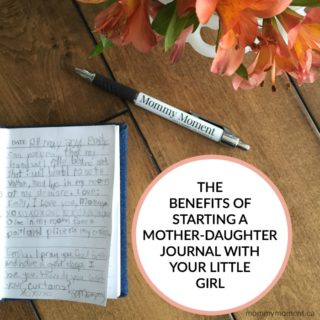 a mother-daughter journal