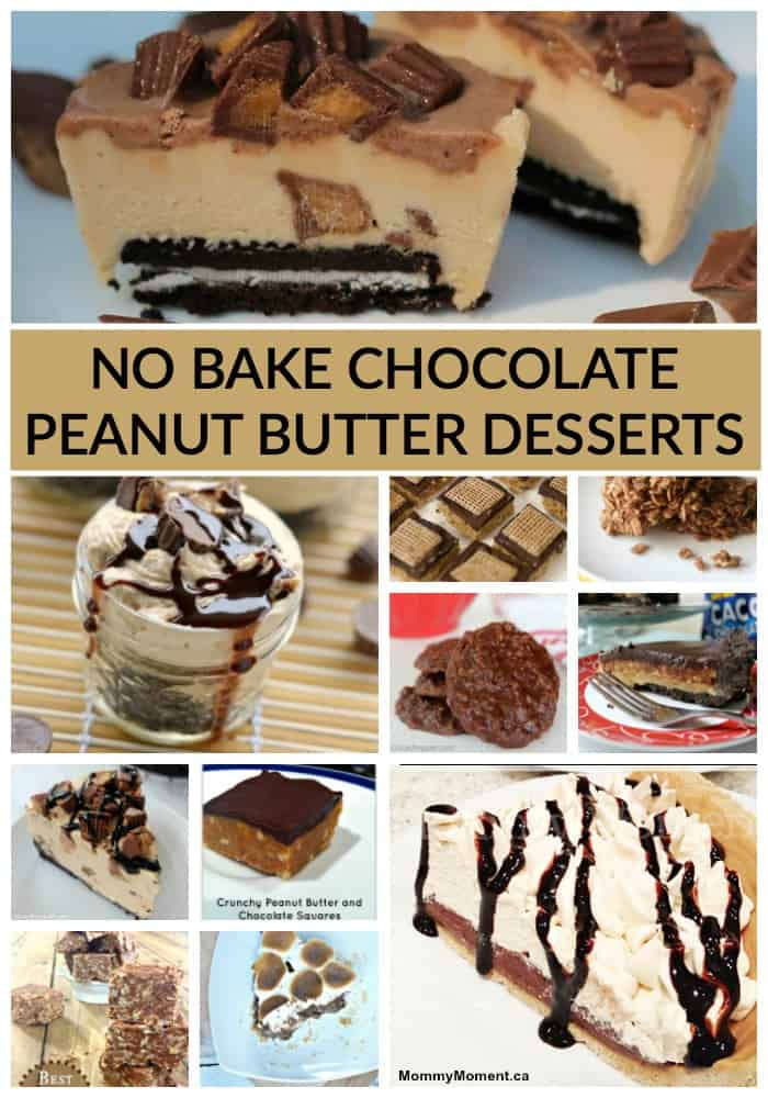 no bake chocolate peanut butter dessert recipes