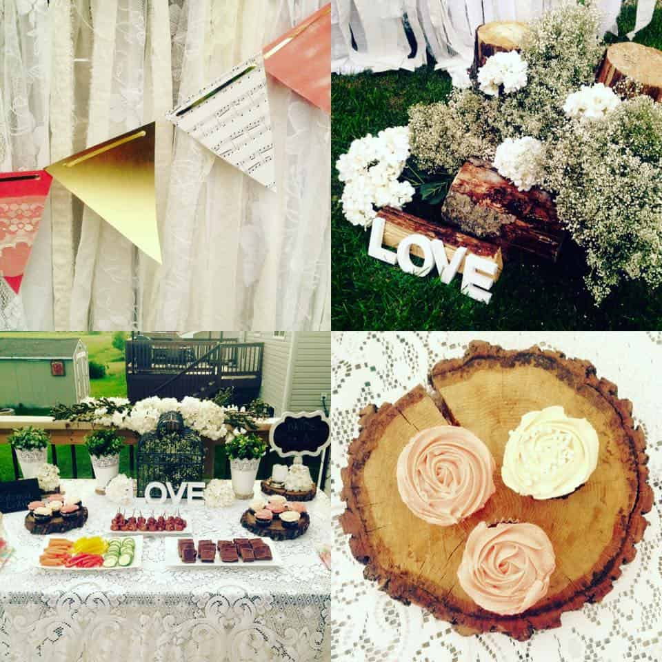 Garden themed bridal shower ideas