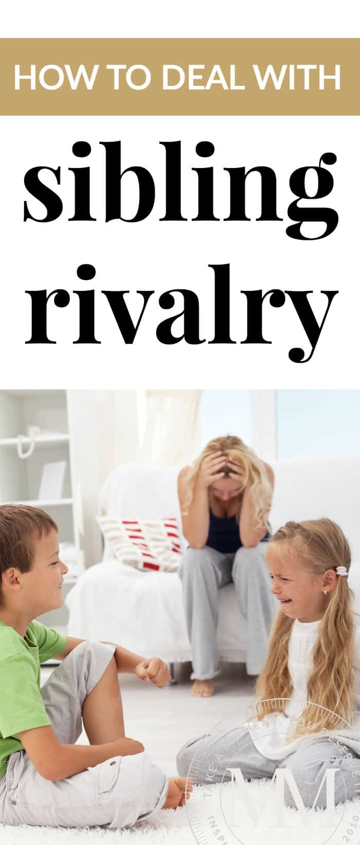 Sibling rivalry - Wouldn't it be amazing if siblings did not fight?