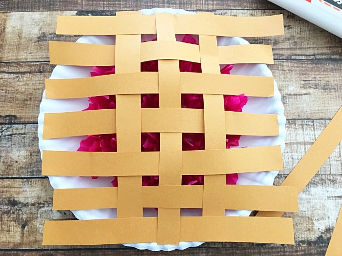 Berry pie craft