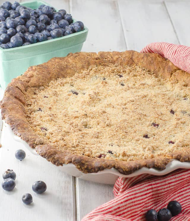 Blueberry Crumb Pie: MOUTHWATERING BERRY PIES