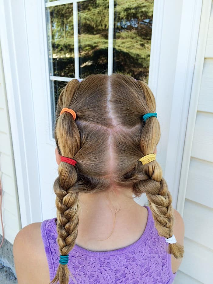 Goody Hairstyle for pool or lake