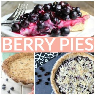 MOUTHWATERING BERRY PIES