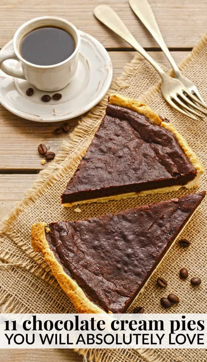 chocolate cream pie recipes