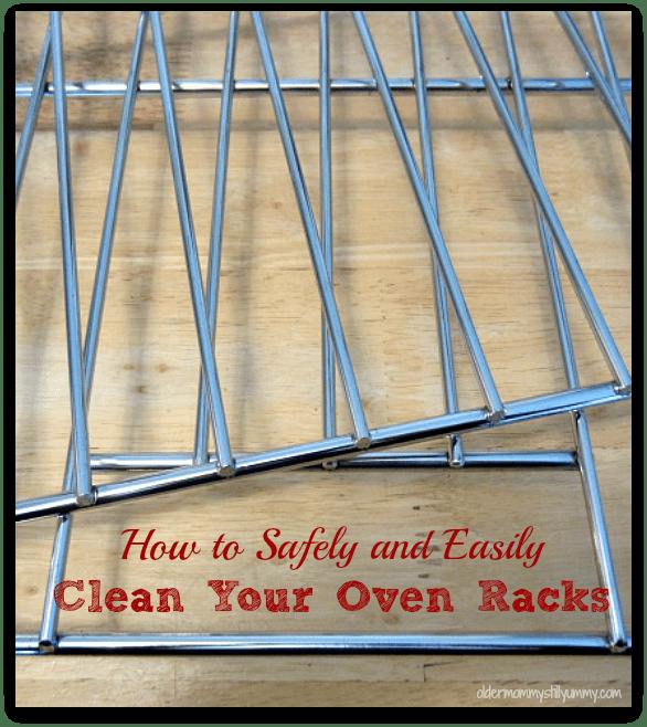 clean oven racks